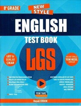 Yeni Tarz 8. Sınıf LGS English Test Book
