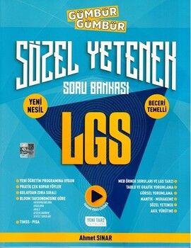 Yeni Tarz Yayınları 8. Sınıf LGS Sözel Yetenek Gümbür Gümbür Soru Bankası