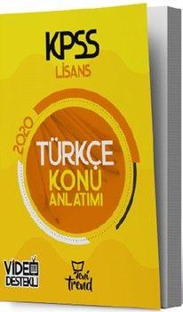 Yeni Trend Yayınları 2020 KPSS Türkçe Konu Anlatımlı