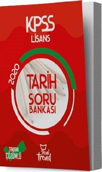 Yeni Trend Yayınları 2020 KPSS Tarih Soru Bankası