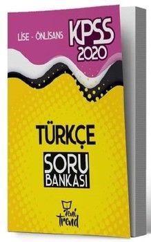 Yeni Trend Yayınları 2020 KPSS Lise Önlisans Gy Gk Türkçe Sözel Mantık Soru Bankası