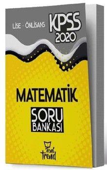 Yeni Trend Yayınları 2020 KPSS Lise Önlisans Gy Gk Matematik Geometri Sayısal Mantık Soru Bankası
