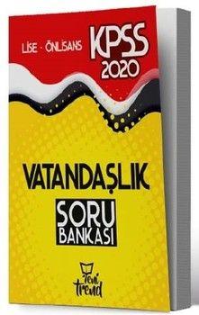 Yeni Trend Yayınları 2020 KPSS Lise Önlisans Gy Gk Vatandaşlık Soru Bankası