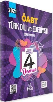 Yeni Trend Yayınları 2021 ÖABT Türk Dili ve Edebiyatı Öğretmenliği Tamamı Çözümlü 4 Deneme