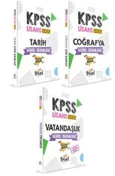 Yeni Trend Yayınları2022 KPSS Lisans Genel Kültür Modüler Soru Bankası Seti