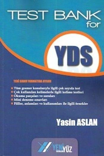 Yeniyüz Yayınları Test Bank For YDS