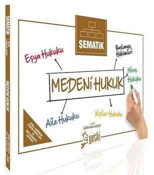 Yetki Yayınları Şematik Medeni Hukuk