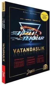 Yetki Yayınları KPSS Vatandaşlık Süper Hızlı Tekrar