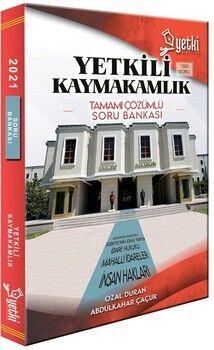 Yetki Yayınları Yetkili Kaymakamlık Çözümlü Soru Bankası