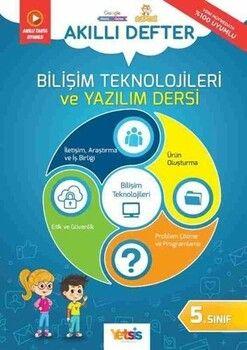 Yetsis Yayınları 5. Sınıf Bilişim Teknolojileri ve Yazılım Dersi Akıllı Defter