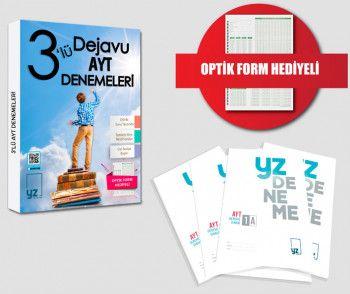 YZ Yayınları AYT 3 lü Dejavu Denemeleri