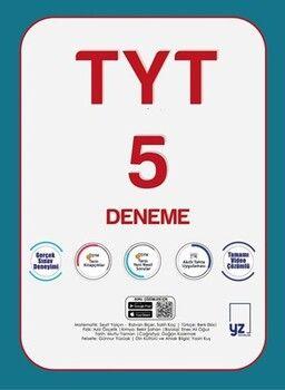YZ Yayınları TYT 5 Deneme Sınavı
