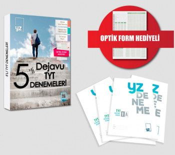 YZ Yayınları TYT 5 li Dejavu Denemeleri