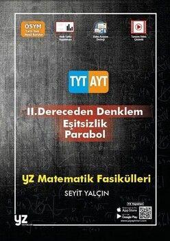 YZ Yayınları TYT AYT Matematik Fasikülleri 2. Dereceden Denklem Eşitsizlik Parabol