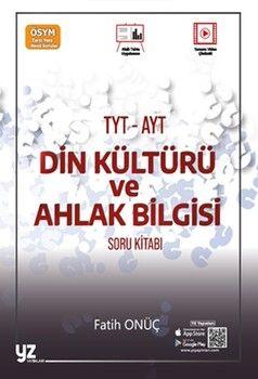 YZ Yayınları TYT AYT Din Kültürü ve Ahlak Bilgisi Soru Kitabı