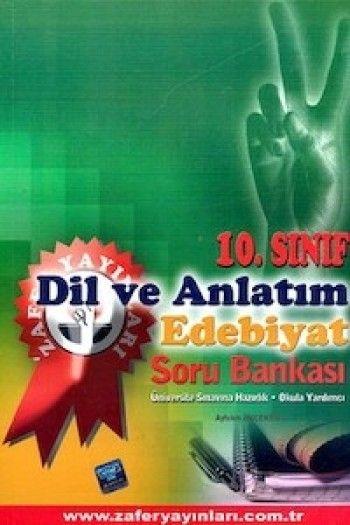 Zafer Yayınları 10. Sınıf Dil ve Anlatım Edebiyat Soru Bankası