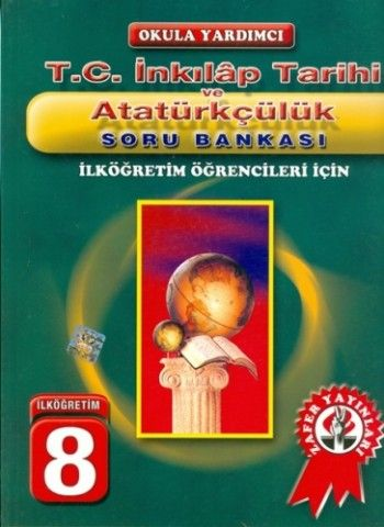 Zafer Yayınları 8. Sınıf T.C. İnkilap Tarihi ve Atatürkçülük Soru Bankası