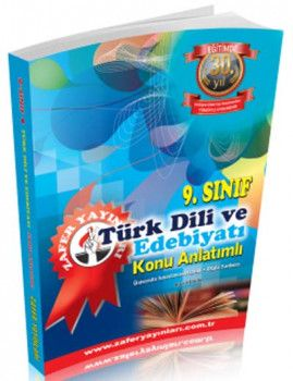 Zafer Yayınları 9. Sınıf Türk Dili ve Edebiyatı Konu Anlatımlı