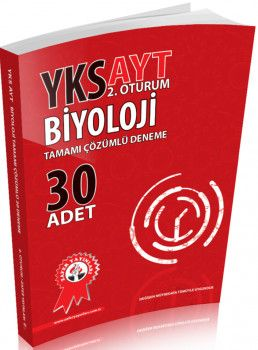 Zafer Yayınları AYT Biyoloji Tamamı Çözümlü Deneme 30 Adet