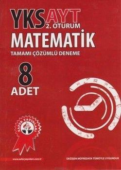 Zafer Yayınları AYT Matematik Çözümlü 8li Deneme