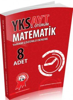 Zafer Yayınları AYT Matematik Tamamı Çözümlü 8 li Deneme