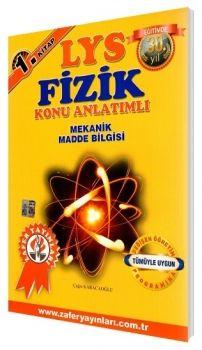 Zafer Yayınları LYS Fizik Konu Anlatımlı 1. Kitap