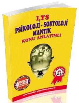 Zafer Yayınları LYS Psikoloji Sosyoloji Mantık Konu Anlatımlı
