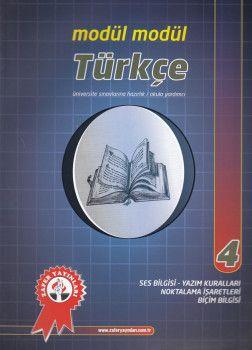 Zafer Yayınları Modül Modül Türkçe 4