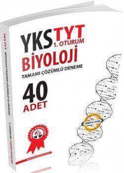 Zafer Yayınları TYT Biyoloji Tamamı Çözümlü Deneme 40 Adet