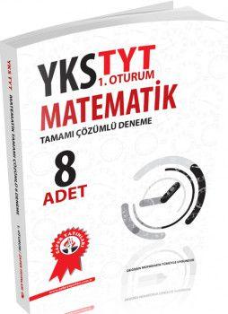 Zafer Yayınları TYT Matematik Tamamı Çözümlü 8 li Deneme