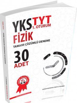 Zafer Yayınları TYT Fizik Tamamı Çözümlü 30 lu Deneme