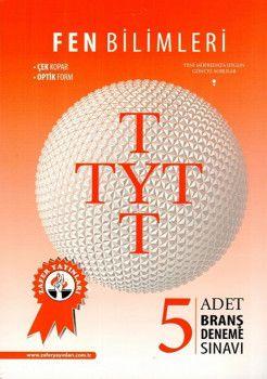 Zafer Yayınları TYT Fen Bilimleri 5 li Branş Deneme Sınavı
