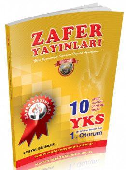Zafer Yayınları YKS 1. Oturum TYT Sosyal Bilimler 10 Adet Özgün Deneme