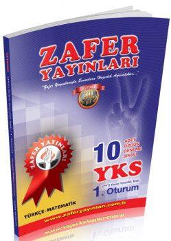 Zafer Yayınları YKS 1. Oturum TYT Türkçe Matematik 10 Adet Özgün Deneme
