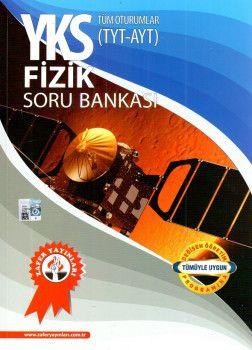 Zafer Yayınları YKS 1. ve 2. Oturum TYT AYT Fizik Soru Bankası