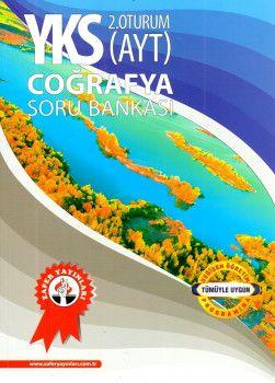Zafer Yayınları YKS 2. Oturum AYT Coğrafya Soru Bankası