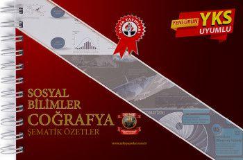 Zafer Yayınları YKS 1. ve 2. Oturum TYT AYT Sosyal Bilimler Coğrafya Şematik Özetler