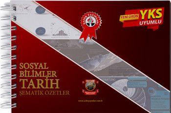 Zafer Yayınları YKS 1. ve 2. Oturum TYT AYT Sosyal Bilimler Tarih Şematik Özetler