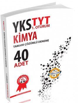 Zafer Yayınları YKS 1. Oturum TYT Kimya Tamamı Çözümlü 40 Deneme
