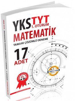Zafer Yayınları YKS 1. Oturum TYT Matematik Tamamı Çözümlü 17 Deneme