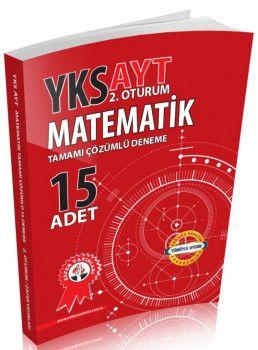 Zafer Yayınları YKS 2. Oturum AYT Matematik Tamamı Çözümlü 15 Deneme