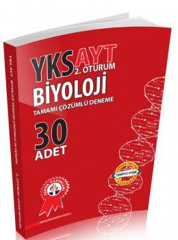 Zafer Yayınları YKS 2. Oturum AYT Biyoloji Tamamı Çözümlü 30 Deneme