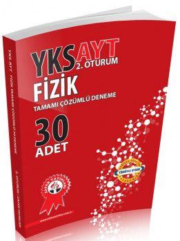 Zafer Yayınları YKS 2. Oturum AYT Fizik Tamamı Çözümlü 30 Deneme