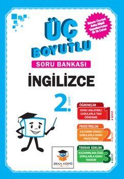 Zeka Küpü Yayınları 2. Sınıf İngilizce Üç Boyutlu Soru Bankası