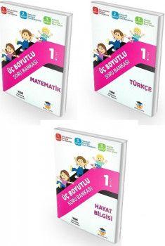 Zeka Küpü Yayınları 1. Sınıf Tüm Dersler Üç Boyutlu Soru Bankası Seti