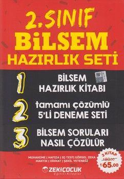 Zeki Çocuk Yayınları 2. Sınıf BİLSEM Hazırlık Seti