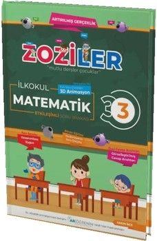 Zoziler 3. Sınıf Matematik Artırılmış Gerçeklik Etkileşimli Canlanan Soru Bankası