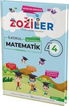 Zoziler 4. Sınıf Matematik Artırılmış Gerçeklik Etkileşimli Canlanan Soru Bankası