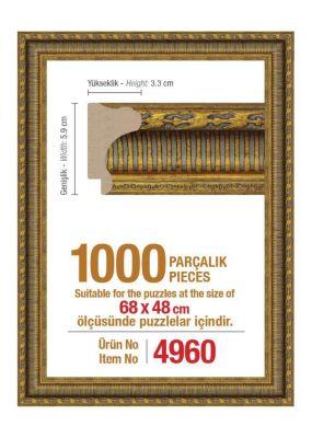 1000\'lik 68 x 48 cm Puzzle Çerçevesi