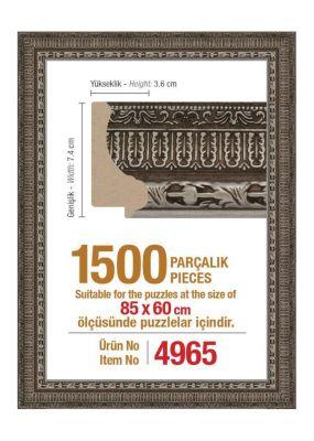 1500\'lik 85 x 60 cm Puzzle Çerçevesi